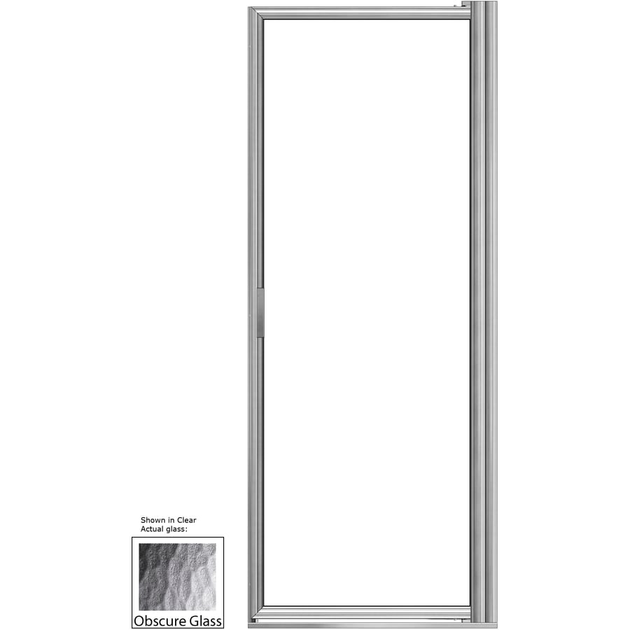Basco 35.125-in to 36.875-in Pivot Shower Door