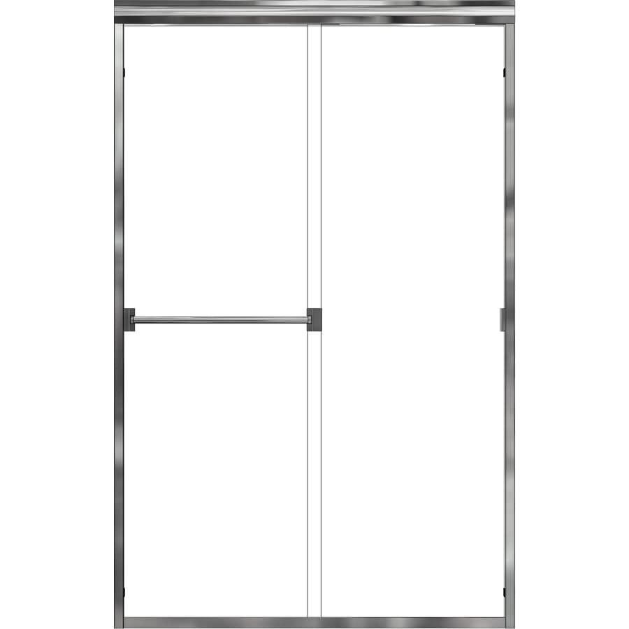 Basco Classic 44-in to 47-in Frameless Shower Door