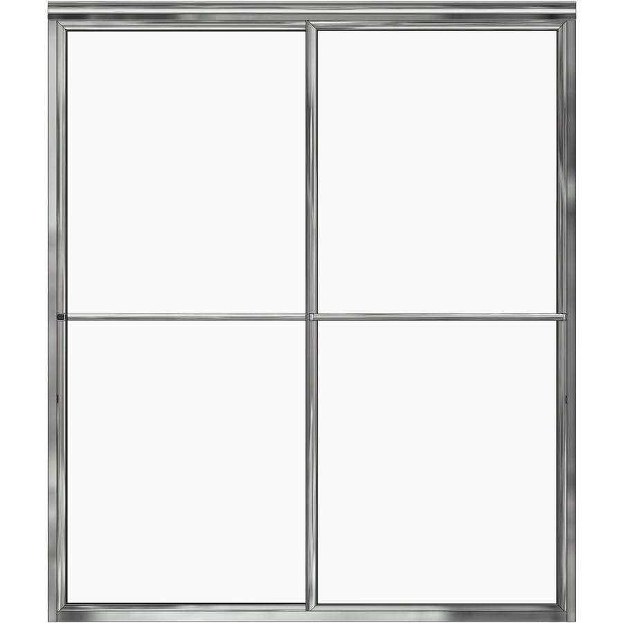 Basco 56-in to 59-in Framed Shower Door