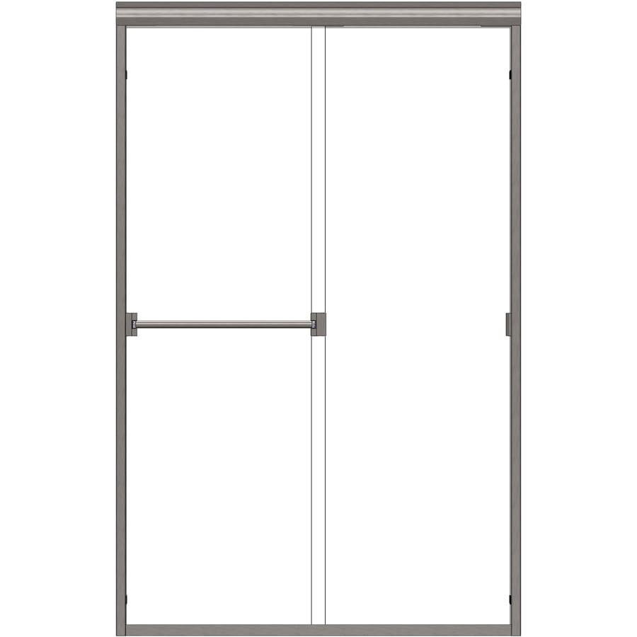 Basco Classic 56-in to 60-in W x 70-in H Frameless Sliding Shower Door