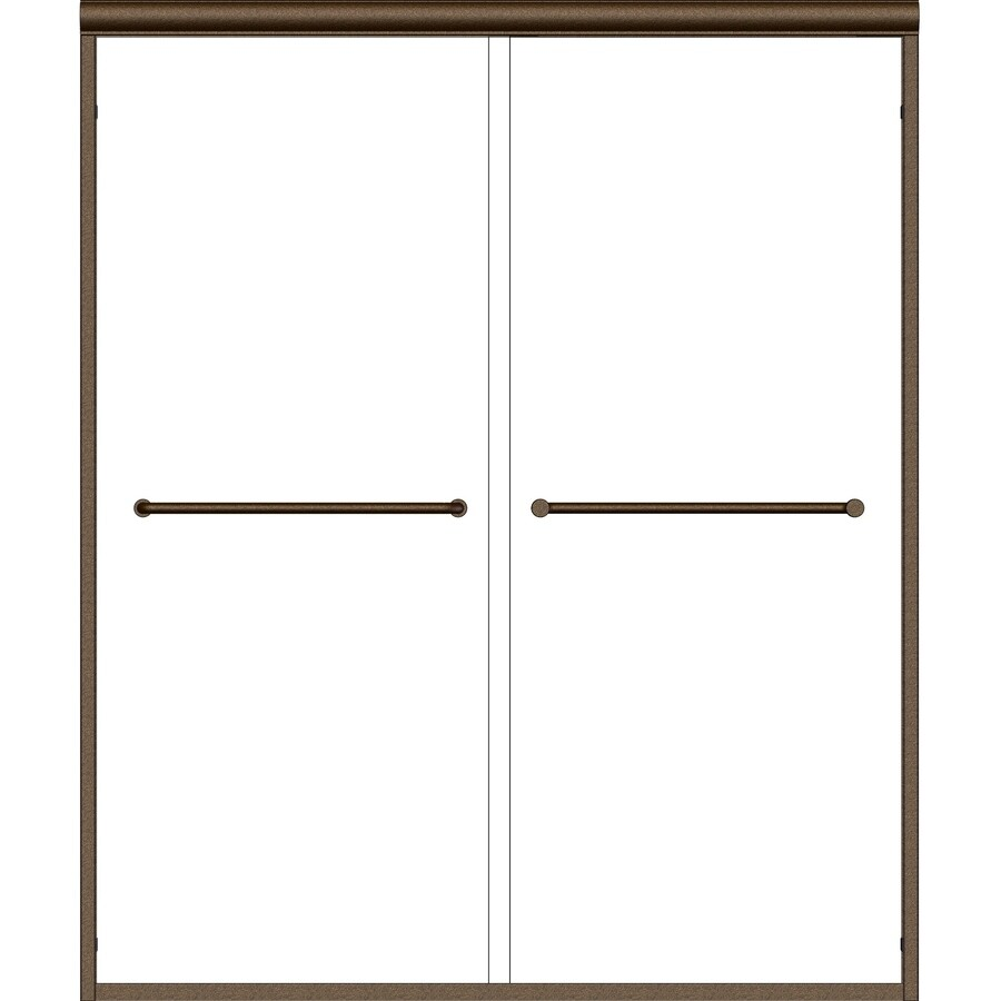 Basco Infinity 44-in to 47-in Frameless Shower Door