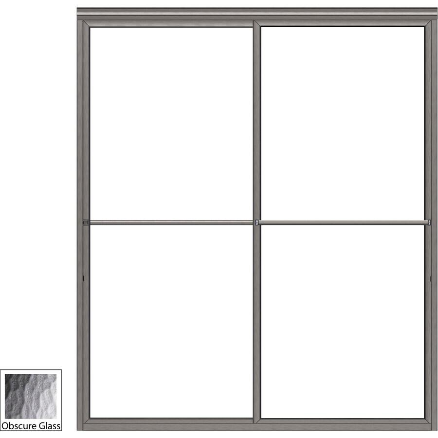 Basco 45-in to 47-in Framed Shower Door