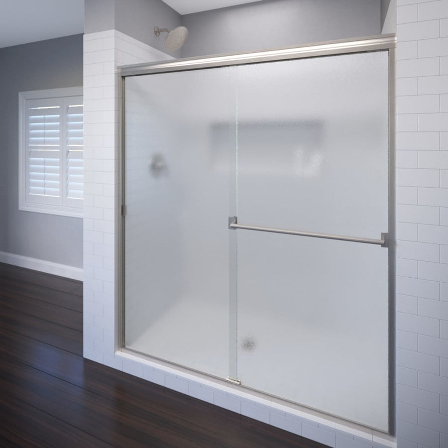 Shop Basco Classic 40 In To 44 In Frameless Shower Door At
