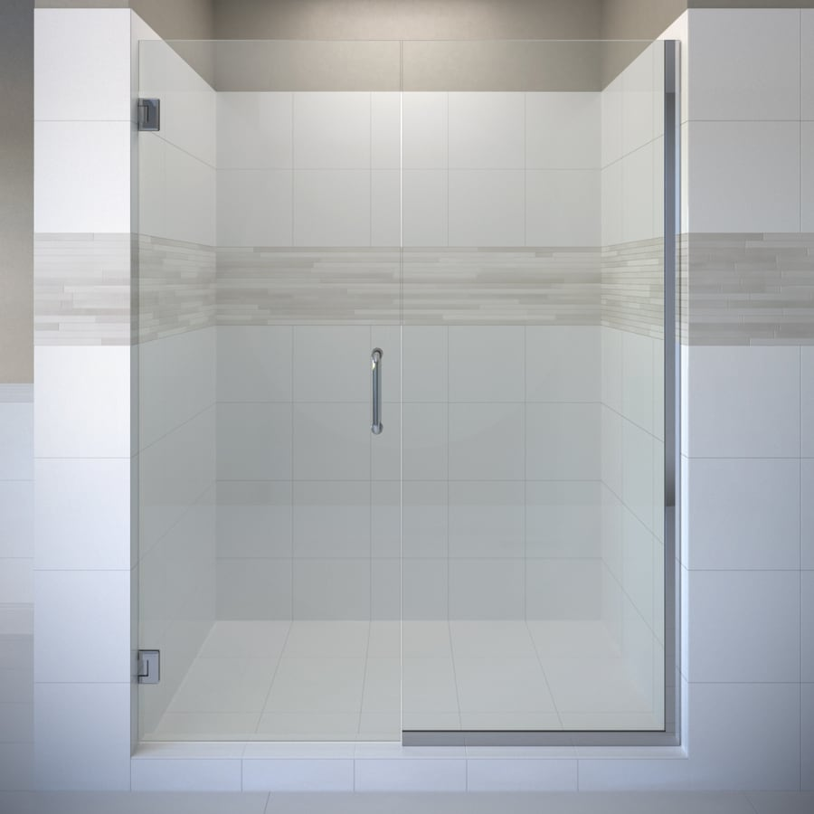 Basco Celesta 46.0625-in to 47-in Frameless Pivot Shower Door