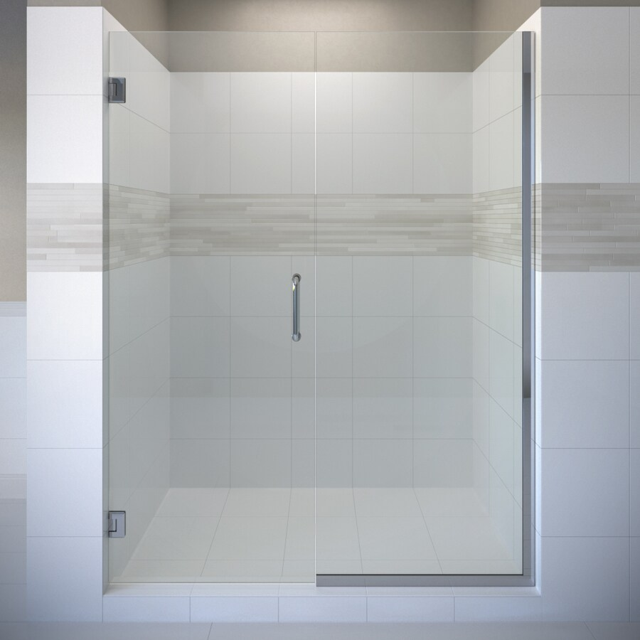 Basco Celesta 45-in to 46-in Frameless Pivot Shower Door