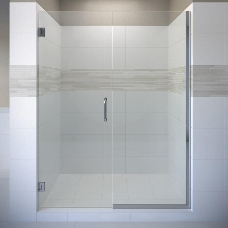 Basco Celesta 58.0625-in to 59-in Frameless Pivot Shower Door