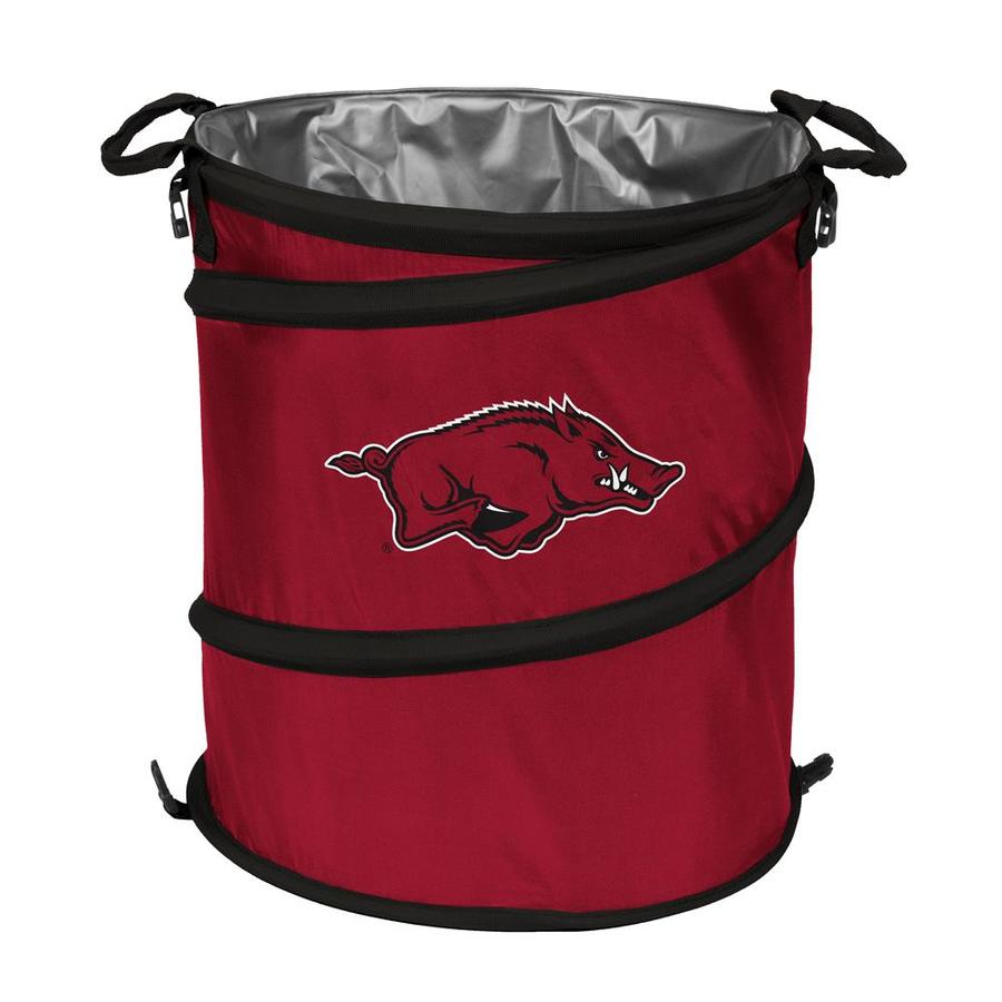 Logo Chairs 13-Gallon Arkansas Polyester Personal Cooler