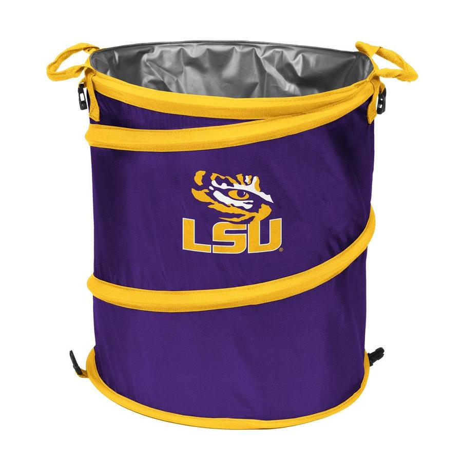 Logo Chairs 13-Gallon Lsu Polyester Personal Cooler