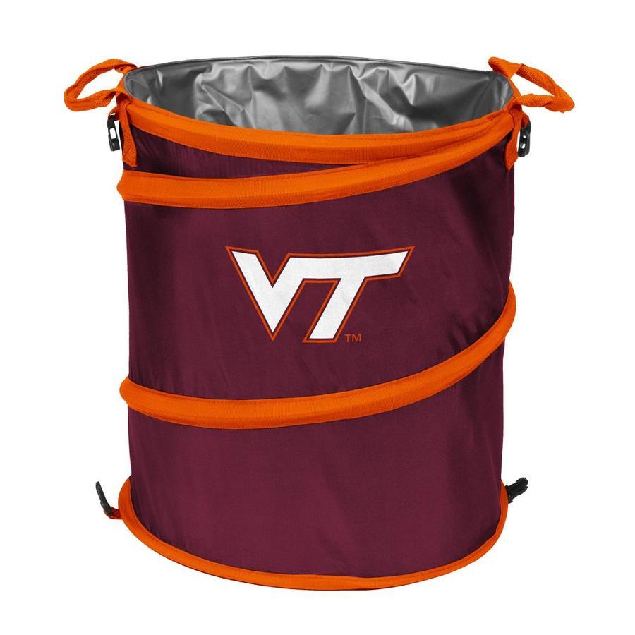 Logo Chairs 13-Gallon Virginia Tech Polyester Personal Cooler