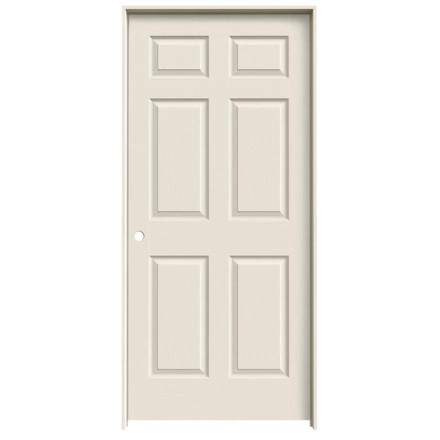 ReliaBilt Hollow Core Molded Composite Single Prehung Interior Door (Common: 36-in x 80-in; Actual: 37.5-in x 81.5-in)