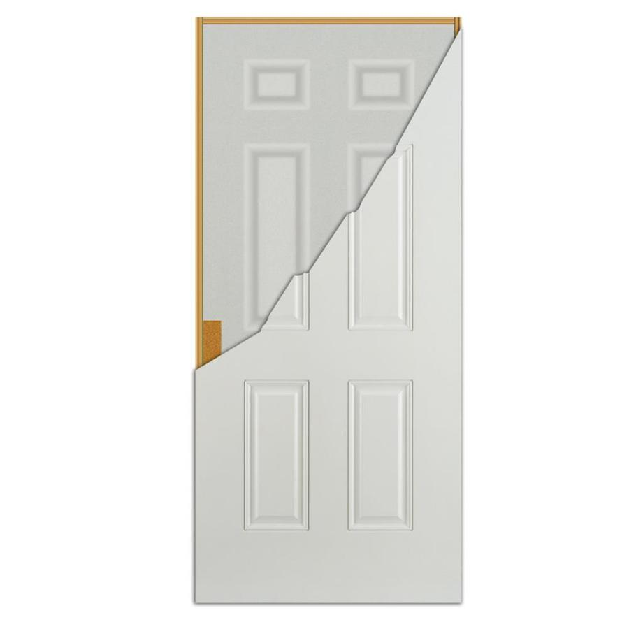 Reliabilt 36 In X 80 In Steel Right Hand Outswing Primed Prehung Single Front Door Brickmould Included In The Front Doors Department At Lowes Com I need an outswing door and all the french doors are typically inswing. lowe s