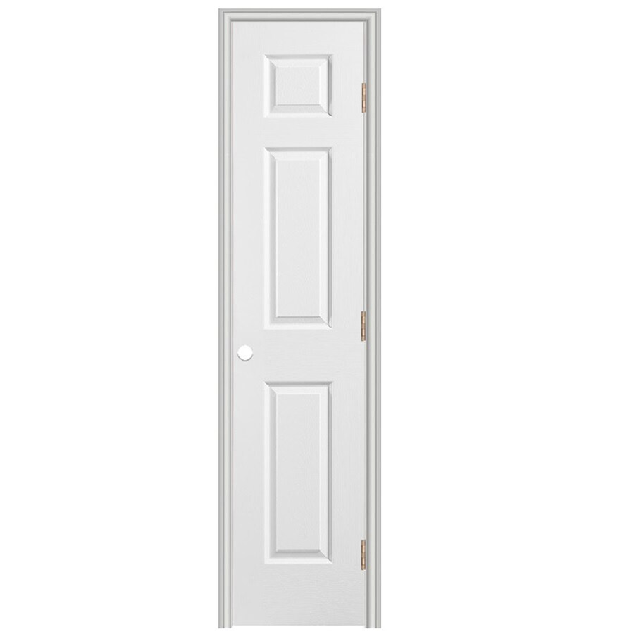 ReliaBilt Prehung Hollow Core 6-Panel Interior Door (Common: 18-in x 80-in; Actual: 19.5-in x 81.5-in)
