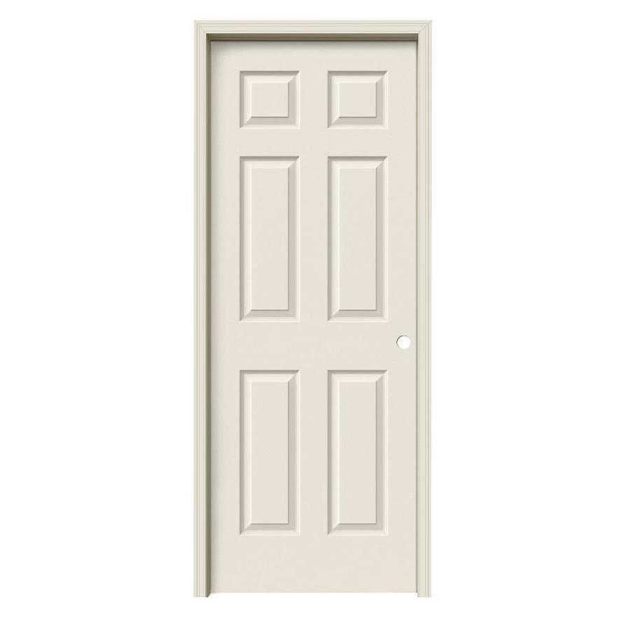 ReliaBilt Colonist Single Prehung Interior Door (Common: 24-in x 80-in; Actual: 25.5-in x 81.5-in)