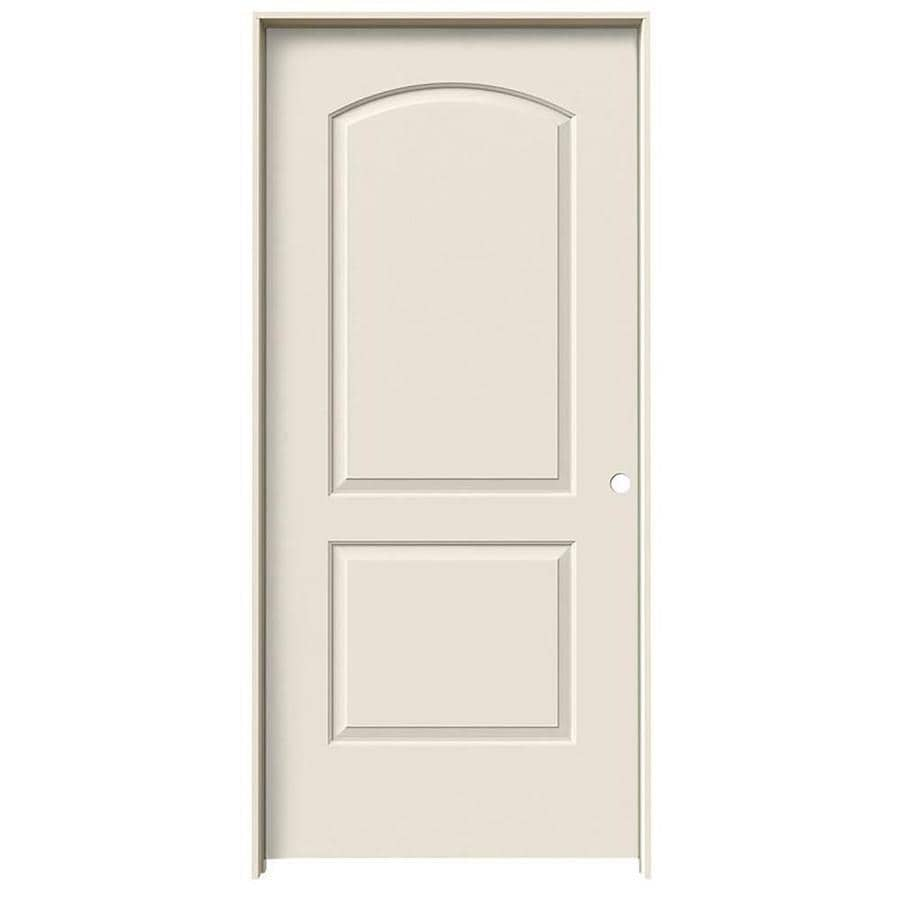 ReliaBilt Prehung Hollow Core 2-Panel Round Top Interior Door (Common: 32-in x 80-in; Actual: 33.5-in x 81.5-in)