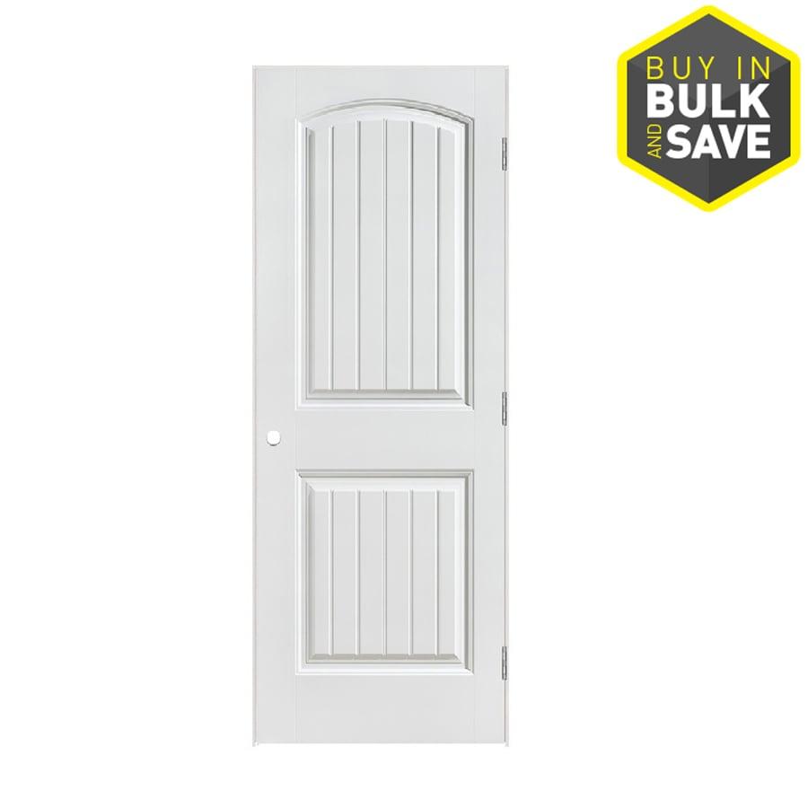 ReliaBilt Primed Molded Composite Interior Door (Common: 28-in x 80-in; Actual: 29.5-in x 81.5-in)