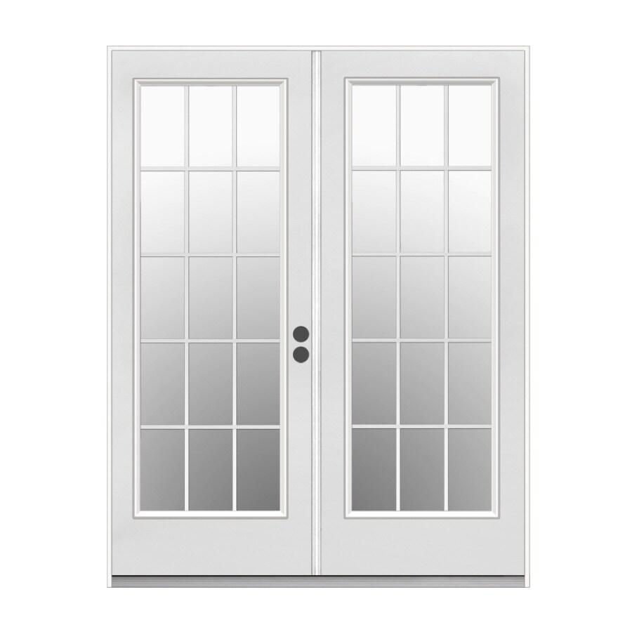 Shop Jeld Wen 715 In Blinds Between The Glass Primer White Steel