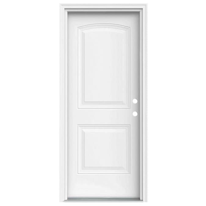 Jeld Wen 32 In X 80 In Steel Left Hand Inswing Primed Prehung Single Front Door Brickmould Included In The Front Doors Department At Lowes Com A wide variety of prehung doors lowes options are available to you, such as project solution capability, open style, and warranty. jeld wen 32 in x 80 in steel left hand inswing primed prehung single front door brickmould included