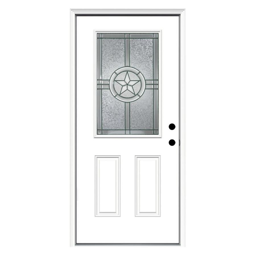 Shop Jeld Wen Radiant Star Decorative Glass Left Hand