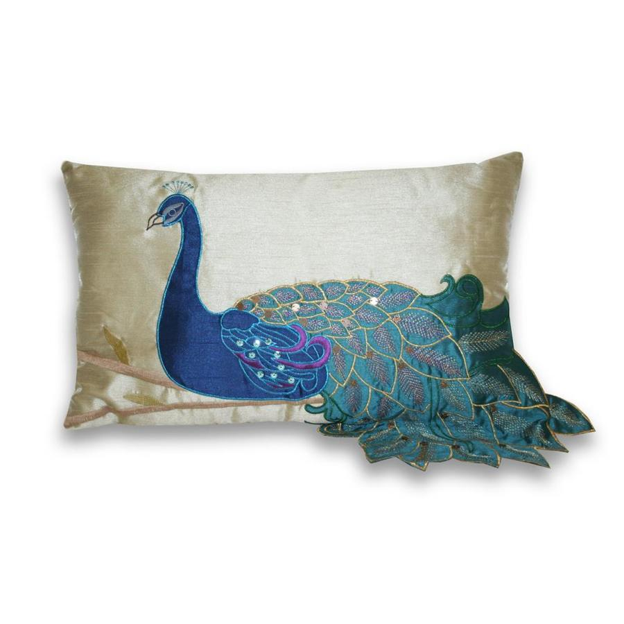 20-in W x 12-in L Multi Rectangular Indoor Decorative Pillow