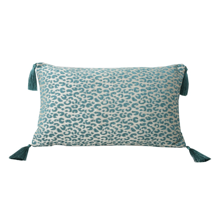 Gabriella Cheetah 20-in W x 12-in L Deep Lake Indoor Decorative Pillow