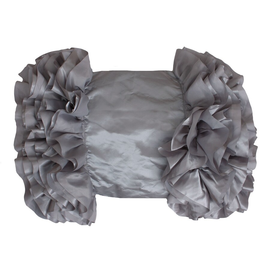 Bahama 18-in W x 14-in L Silver Indoor Decorative Pillow