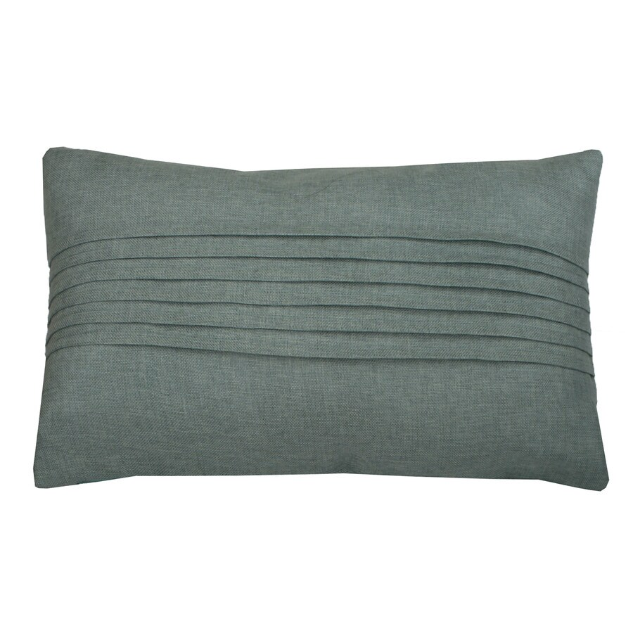 Shop 24-in W x 14-in L Harbor Rectangular Indoor Decorative Pillow at Lowes.com