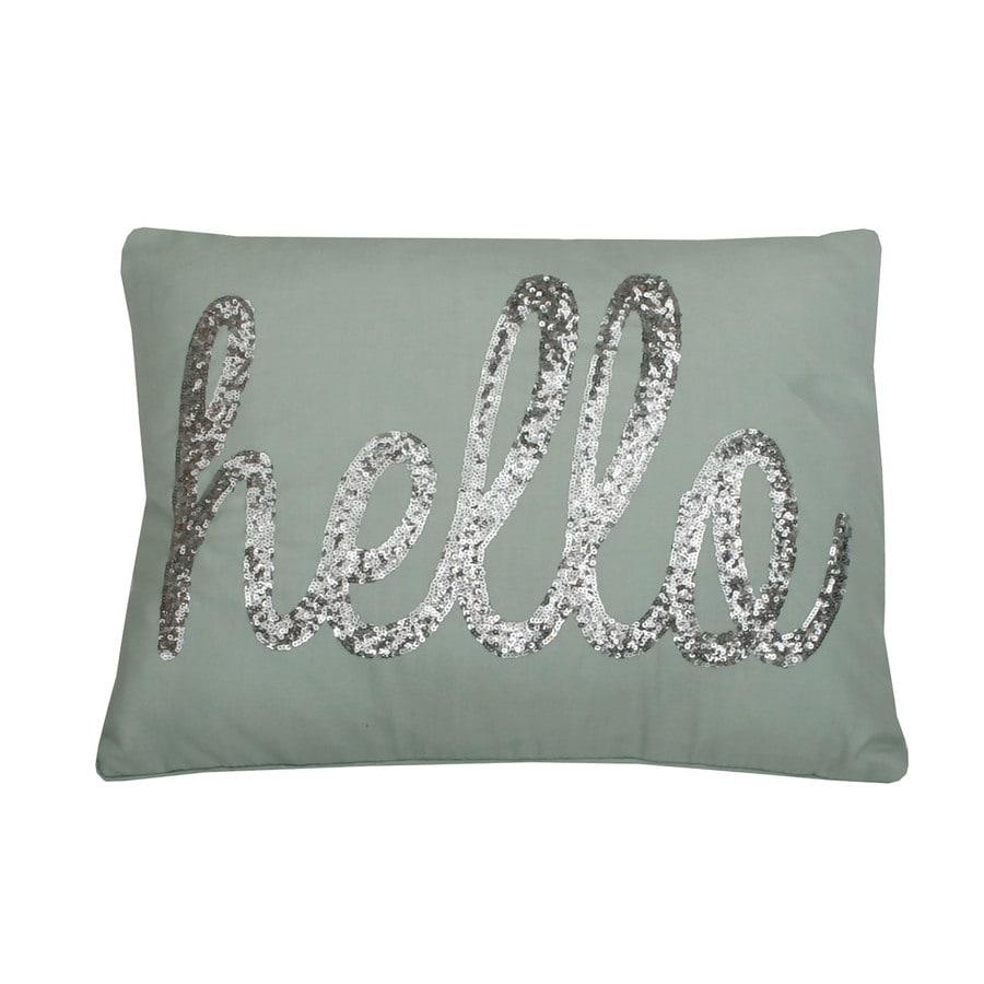 18-in W x 14-in L Harbor Rectangular Indoor Decorative Pillow