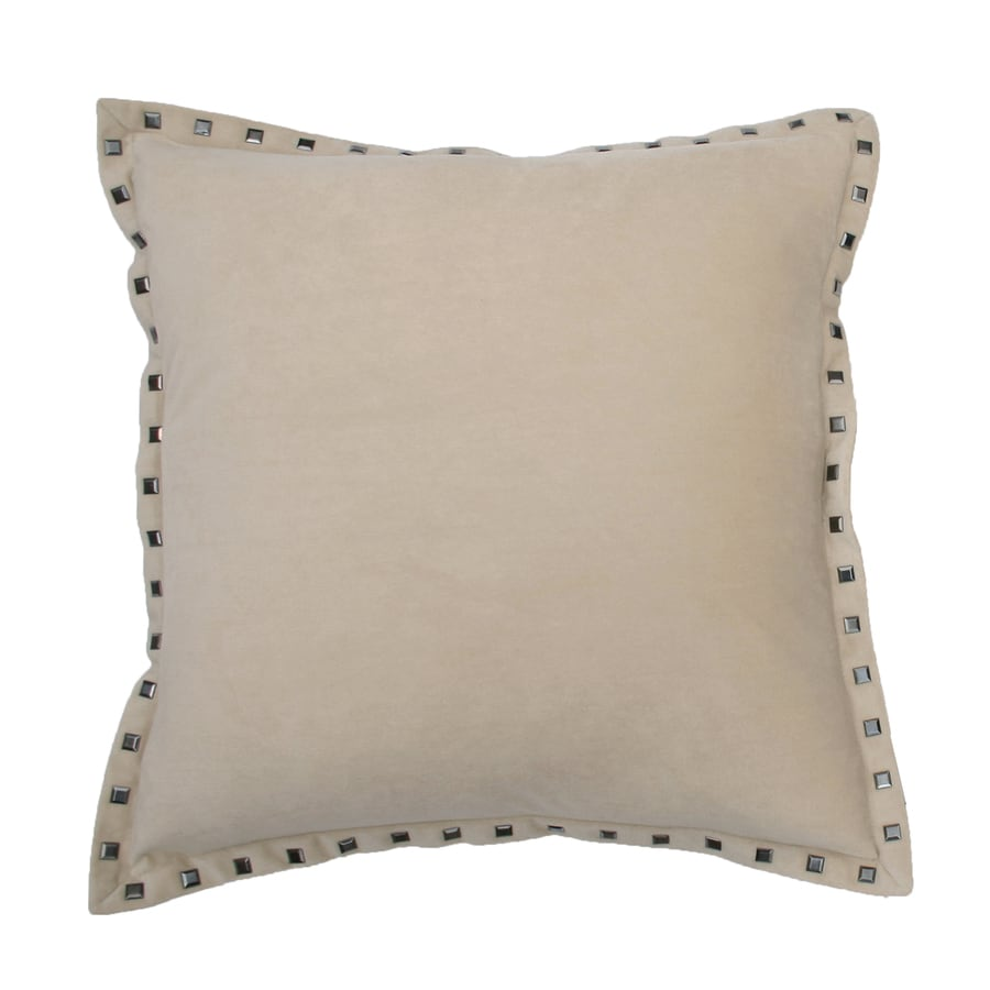 Payton 19-in W x 19-in L String Square Indoor Decorative Pillow
