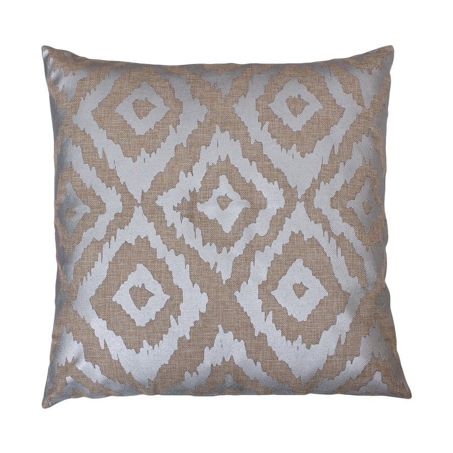 20-in W x 20-in L Natural Indoor Decorative Pillow