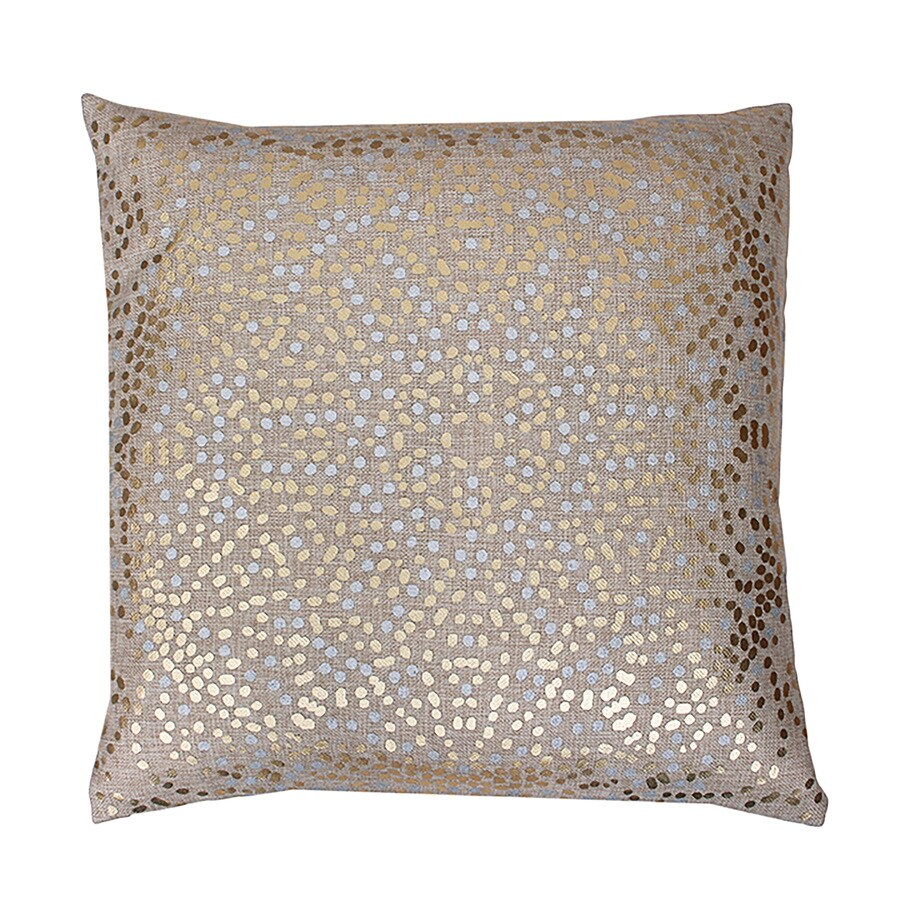 20-in W x 20-in L Natural Square Indoor Decorative Pillow