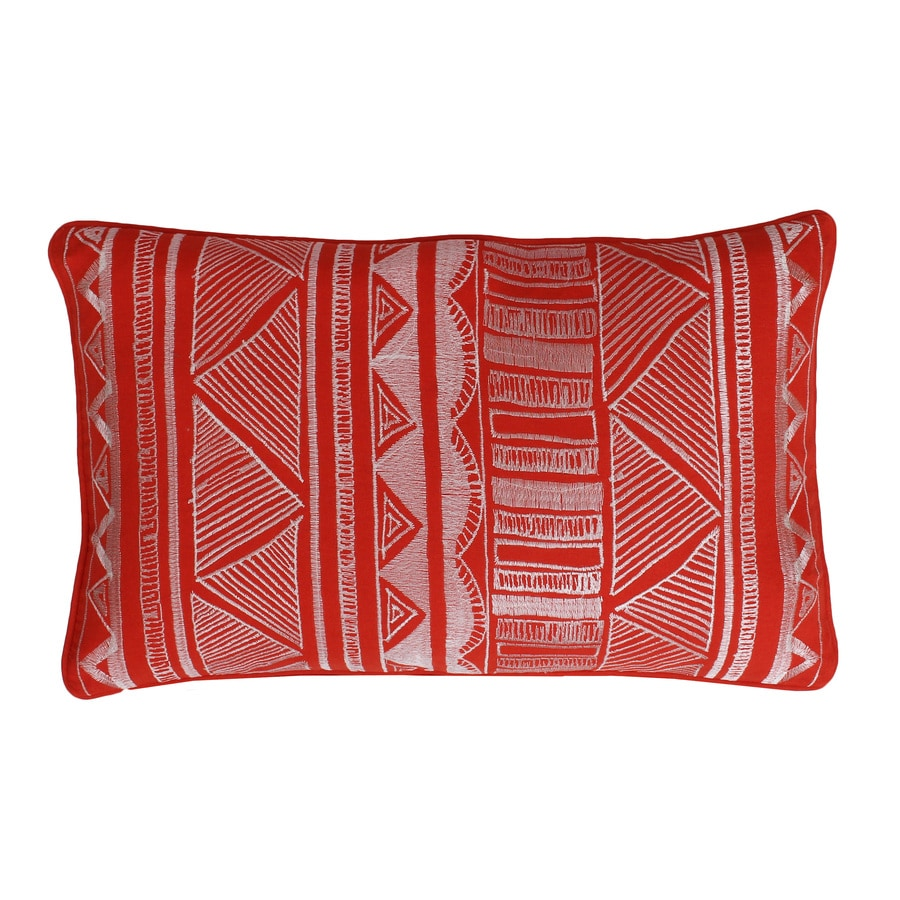 20-in W x 12-in L Koi Rectangular Indoor Decorative Pillow