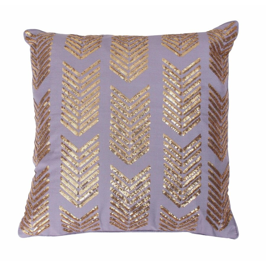 18-in W x 18-in L Nirvana Square Indoor Decorative Pillow