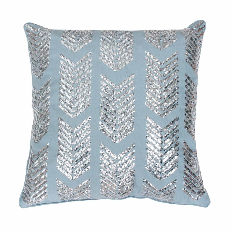 18-in W x 18-in L Tourmaline Indoor Decorative Pillow