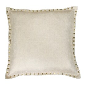 Allen + Roth 22 In W X 22 In L Natural Indoor Decorative Pillow
