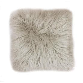 allen + roth 18-in W x 18-in L Oatmeal Indoor Decorative Pillow