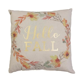CURATED COLLECTIONS Heather Hello Fall Pillow