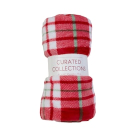 CURATED COLLECTIONS Curated Collections Multi 50-in W Polyester Throw