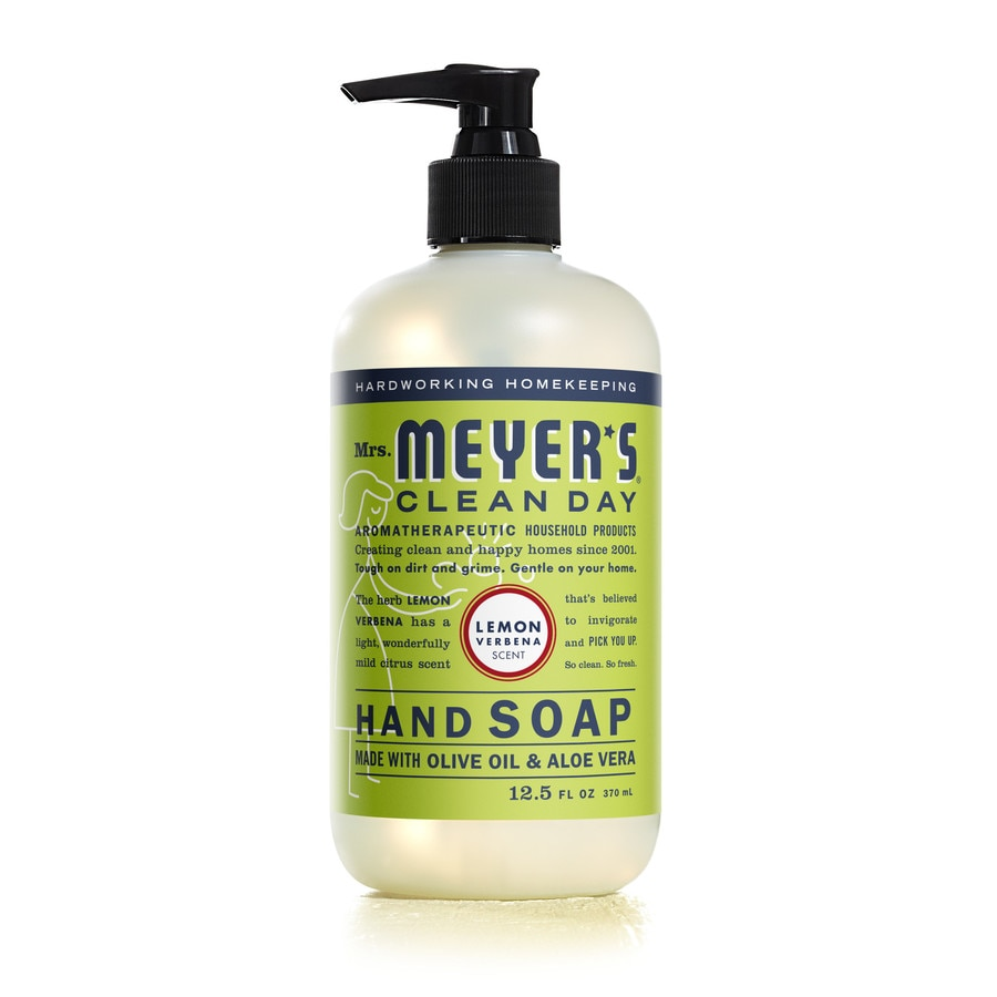 Mrs. Meyer's Clean Day 12.5-fl oz Lemon Verbena Hand Soap