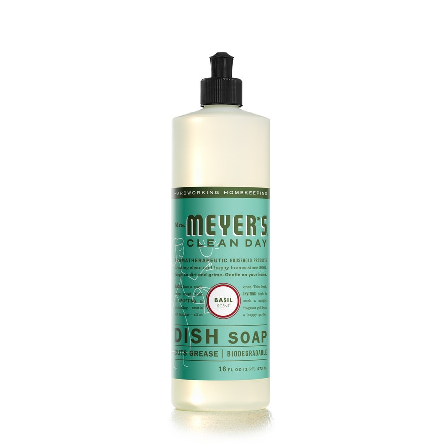 MRS MEYERS CLEAN DAY 16-oz Basil Dish Soap