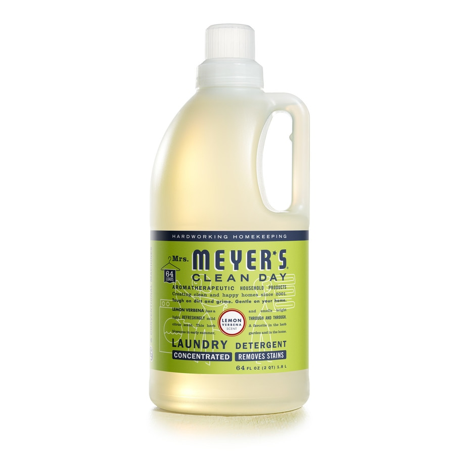 Mrs. Meyer's Clean Day Clean Day 64-fl oz Lemon Verbena HE Laundry Detergent
