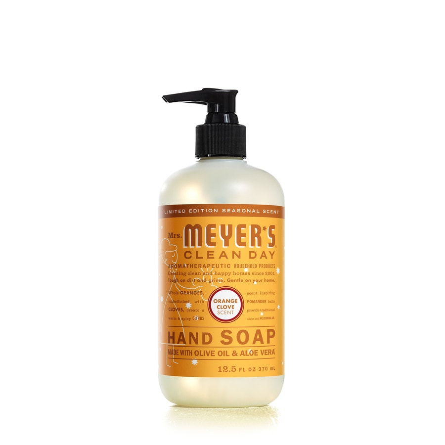 Mrs. Meyer's Clean Day 12.5-fl oz Orange Clove Hand Soap