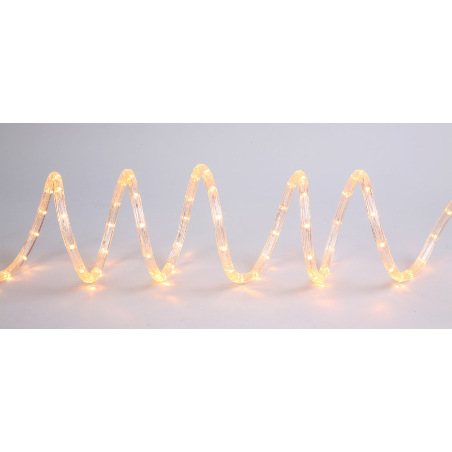 Utilitech Warm White Led Rope Light Actual 24 Ft