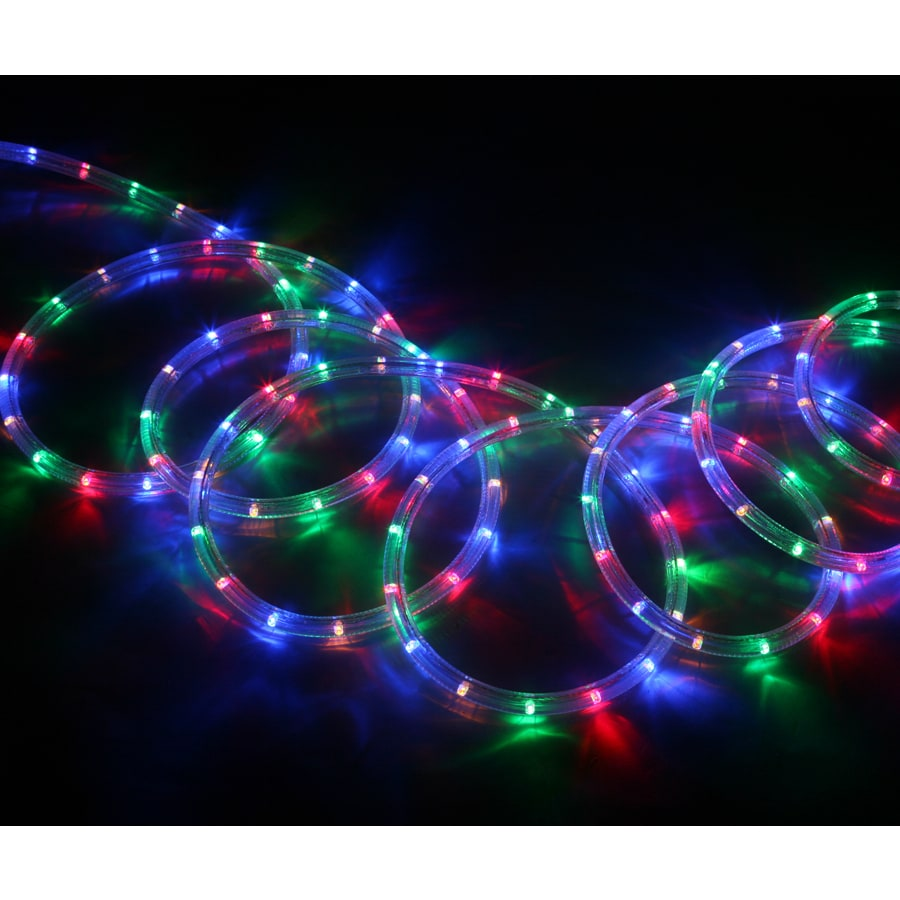 Shop neoflam multi color led rope light actual 18 ft at lowes neoflam multi color led rope light actual 18 ft mozeypictures Images