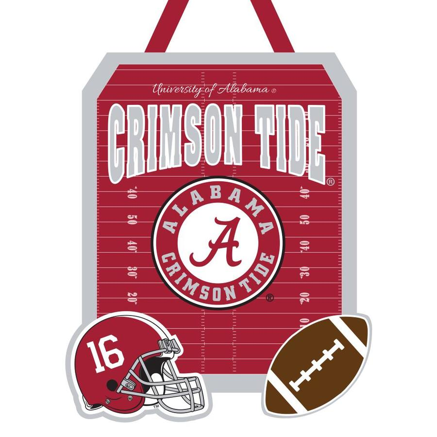Evergreen 1.25-ft W x 1.66-ft H Sports Embroidered Alabama Crimson Tide Flag