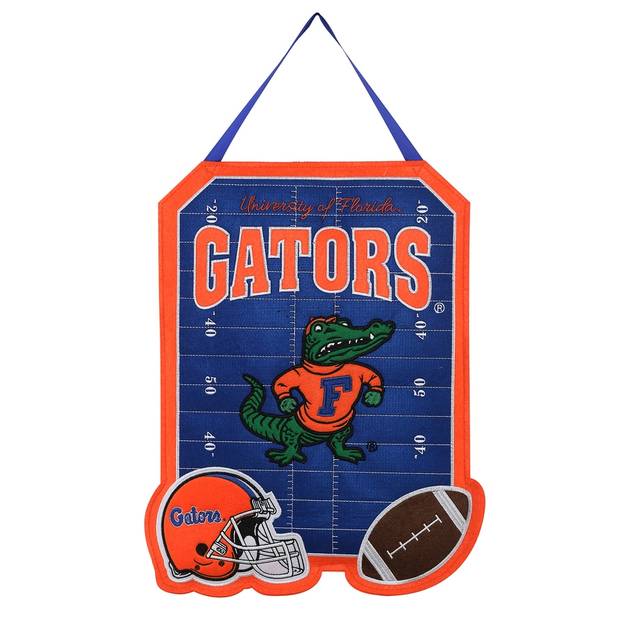 Evergreen 1.25-ft W x 1.66-ft H Sports Embroidered Florida Gators Flag