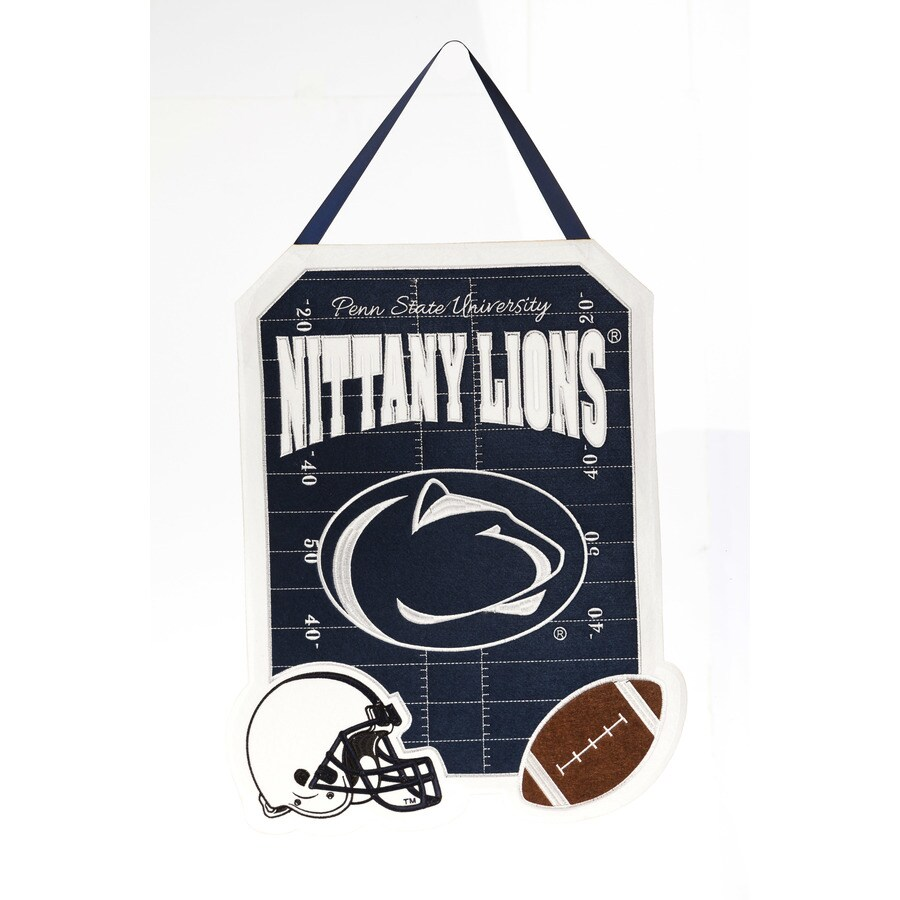 Evergreen 1.25-ft W x 1.66-ft H Sports Embroidered Pennsylvania Penn State Nittany Lions Flag