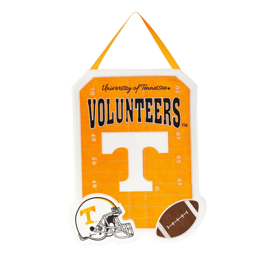 Evergreen 1.25-ft W x 1.66-ft H Sports Embroidered Tennessee Volunteers Flag