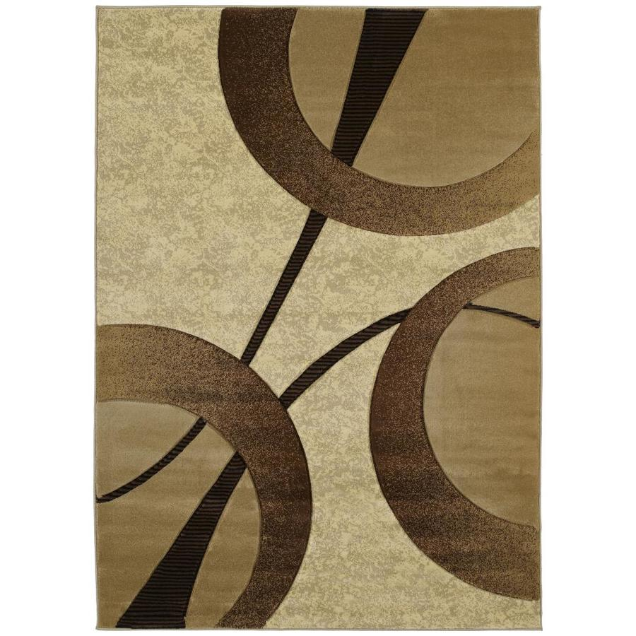 United Weavers Of America Contours Beige Indoor Area Rug Common 2