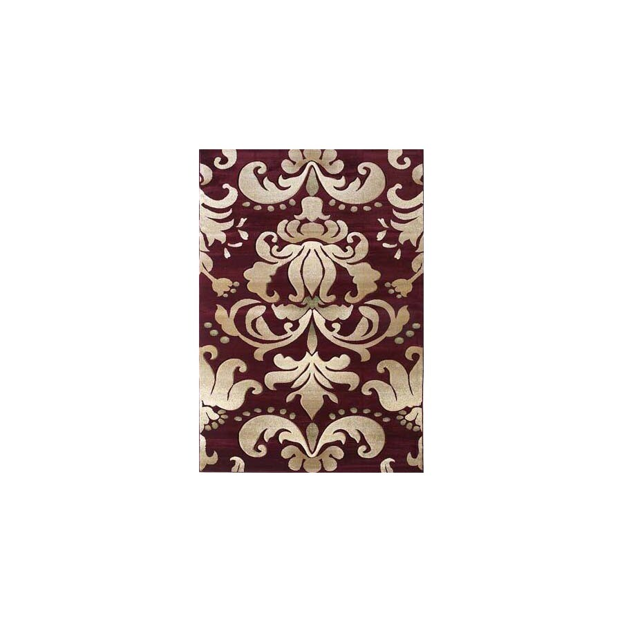 United Weavers Of America Contours Brown Rectangular Indoor Woven Area Rug (Common: 8 x 10; Actual: 94-ft W x 126-ft L)