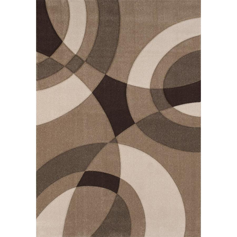 United Weavers Of America Townshend Multicolor Rectangular Indoor Machine-Made Area Rug (Common: 5 x 8; Actual: 63-in W x 90-in L)